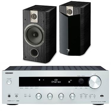 Onkyo TX-8050 Argent + Focal Chorus 706 V2 Black Ash