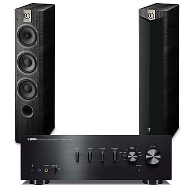 Yamaha A-S501 Noir + Focal Chorus 727 V2 Black Ash Amplificateur stéréo intégré 2 x 85 W + Enceinte colonne (par paire)