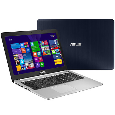 "ASUS K501LB-DM091H Intel Core i5-5200U 6 Go SSD 128 Go + HDD 1 To 15.6"" LED Full HD NVIDIA GeForce 940M Wi-Fi AC/Bluetooth Webcam Windows 8.1 64 bits (garantie constructeur 2 ans)"