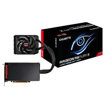 Gigabyte Radeon R9 Fury X GV-R9FURYX-4GD-B 4 Go HDMI/Tri DisplayPort - PCI Express (AMD Radeon R9 Fury X)