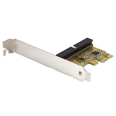 StarTech.com Carte contrôleur 1 port IDE sur port PCI-Express Carte contrôleur 1 port IDE sur port PCI-Express avec supports standard et faible encombrement inclus
