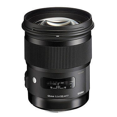 Sigma 50mm F1,4 DG HSM ART monture Canon Objectif standard Full Frame