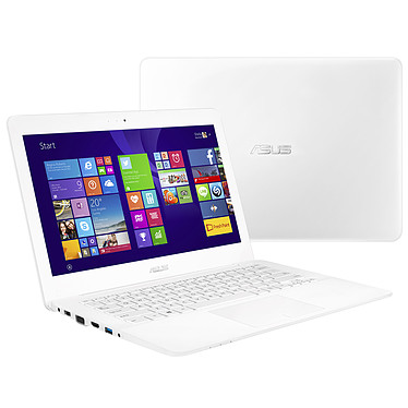 """ASUS X302LJ-FN076H Blanc Intel Core i5-5200U 4 Go 500 Go 13.3"""" LED HD Wi-Fi N/Bluetooth Webcam Windows 8.1 64 bits (garantie constructeur 1 an)"""
