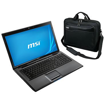 "MSI CR70 2M-280XFR + sacoche PORT Designs Hanoï offerte ! Intel Celeron 2950M - RAM 2 Go - HDD 500 Go - 17.3"" LED HD+ Graveur DVD - Wi-Fi N/Bluetooth - Webcam - FreeDOS (garantie constructeur 1 an)"