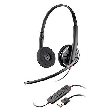 Plantronics Blackwire C320-M Auriculares estéreo USB optimizados para Microsoft Lync 2010, Lync 2013 y Microsoft OCS 2007