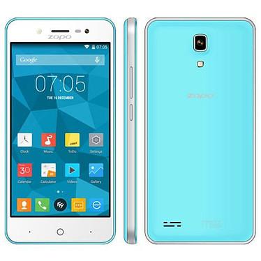 """Zopo ZP330 Bleu Smartphone 4G-LTE Dual SIM avec écran tactile 4.5"""" sous Android 5.1"""
