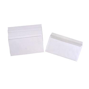 500 enveloppes DL auto-adhésives 80g pleine Boite de 500 enveloppes format DL 80g avec bande de protection