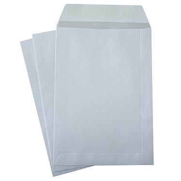 The White Vellum Pockets Crown C5 Autoadhesivo 90g x 50g Caja de 50 bolsillos autoadhesivos blancos en formato 162 x 229 mm.