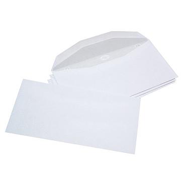 La Couronne Enveloppes mécanisables114x229 mm Boite de1000 enveloppes 80g format 114x229 mm pour mise sous pli automatique