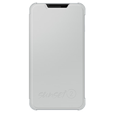 Wiko Etui Cover Back Folio Blanc Wiko Sunset 2 Etui folio pour Wiko Sunset 2