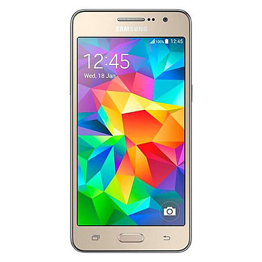"""Samsung Galaxy Grand Prime Value Edition SM-G531 Or Smartphone 4G-LTE avec écran tactile 5"""" sous Android 5.1"""
