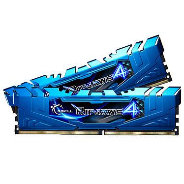 G.Skill RipJaws 4 Series Bleu 8 Go (2x 4 Go) DDR4 3200 MHz CL16