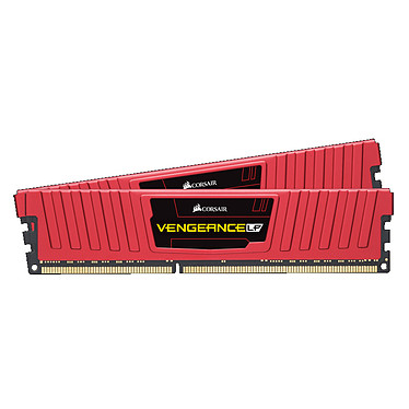 Corsair Vengeance Low Profile Series 8 Go (2 x 4 Go) DDR3 1600 MHz CL9 Rouge