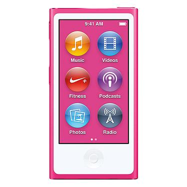 """Apple iPod nano 16 Go Rose (2015) Lecteur MP4 avec écran Multi-Touch 2.5"""", Bluetooth, Radio FM et Nike+"""