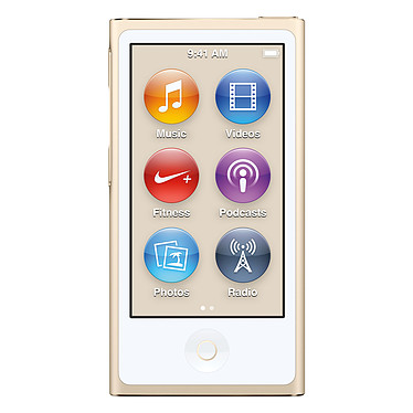 Apple iPod nano 16 Go Or (2015)