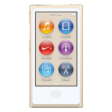 """Apple iPod nano 16 Go Or (2015) Lecteur MP4 avec écran Multi-Touch 2.5"""", Bluetooth, Radio FM et Nike+"""