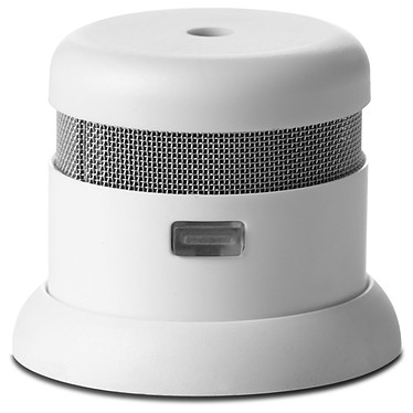 Mini détecteur de fumée autonome 10 ans d'autonomie