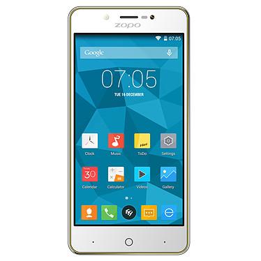"""Zopo ZP350 Jaune Smartphone 4G-LTE Dual SIM avec écran tactile HD 5"""" sous Android 5.1"""