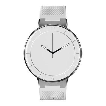 """Alcatel One Touch Watch Blanc Montre connectée Bluetooth 4.0 certifiée IP67 avec écran tactile 1.2"""""""