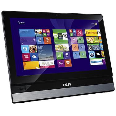 """MSI Adora22 2M-055EU Noir/Argent Intel Core i3-4000M 4 Go 500 Go LED 21.5"""" Graveur DVD Wi-Fi N/Bluetooth Webcam Windows 7 Professionnel 64 bits + Windows 8.1 Pro 64 bits (Garantie constructeur 2 ans)"""