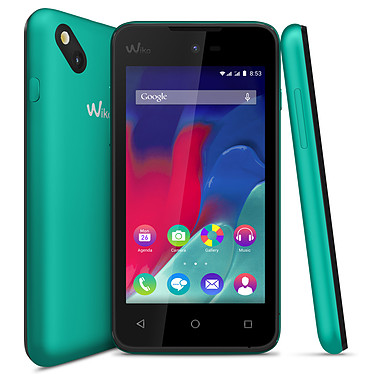 "Wiko Sunset 2 Bleen Smartphone 3G+ Dual SIM avec écran tactile 4"" sous Android 4.4"