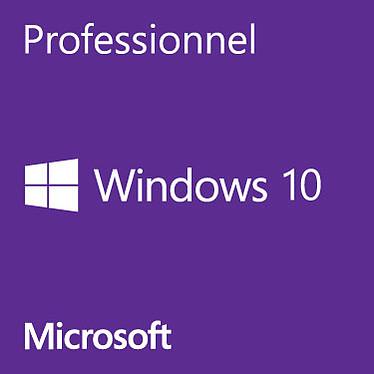 Microsoft Windows 10 Professionnel 32 bits OEM Get Genuine Kit Licence de mise en conformité de Windows (français)