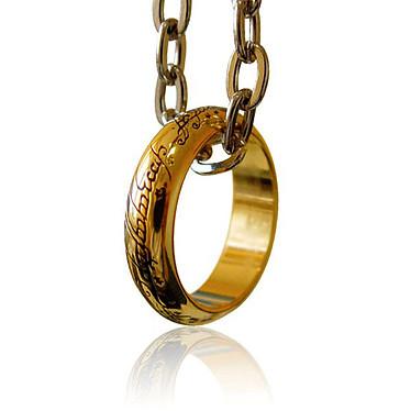 El Señor de los Anillos - Réplica oficial del único anillo (tamaño 62)