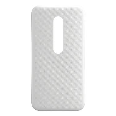 Motorola Coque d'origine Blanc Motorola Moto G 3ème Génération Coque arrière d'origine pour Motorola Moto G 3ème Génération
