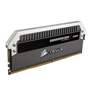 Avis Corsair Dominator Platinum 8 Go (2x 4 Go) DDR4 4000 MHz CL19