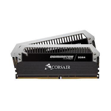 Corsair Dominator Platinum 16 Go (2x 8 Go) DDR4 4133 MHz CL19 Kit de dos canales 2 tiras de RAM DDR4 PC4-33000 - CMD16GX4M2K4133C19 (garantía de por vida de Corsair)
