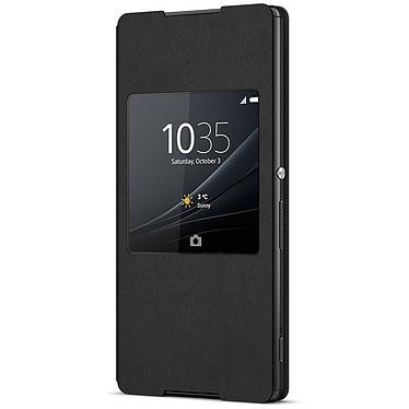Sony Style Cover Window Noir Sony Xperia Z3+ Etui folio avec fenêtre pour Sony Xperia Z3+