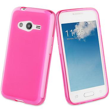 Muvit Housse minigel Fucshia Samsung Galaxy Trend 2 Lite Housse minigel pour Samsung Galaxy Trend 2 Lite