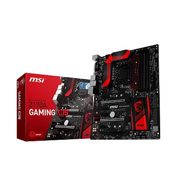 MSI Z170A GAMING M5 Carte mère ATX Socket 1151 Intel Z170 Express - SATA 6Gb/s + M.2 - USB 3.1 - 3x PCI-Express 3.0 16x