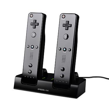 Speedlink Jazz (Noir) Station en charge 2 en 1 + 2 batteries pour Wii/Wii U