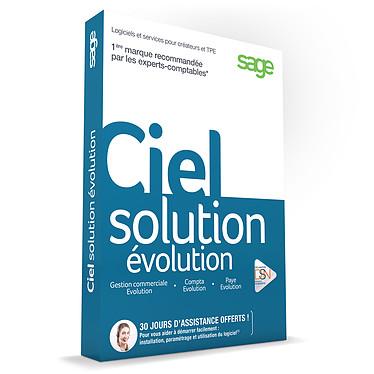 Ciel Solution Evolution 2016 Logiciel de gestion commerciale, comptabilité et paye (français, WINDOWS)