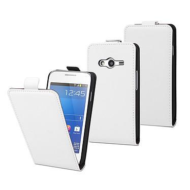 Muvit Etui Slim S Blanc Samsung Galaxy Trend 2 Lite