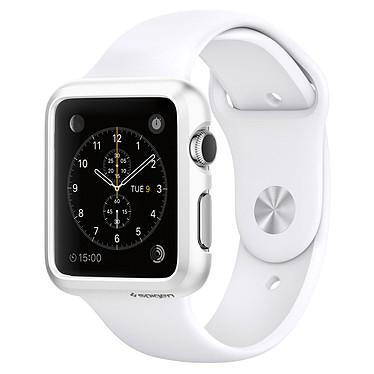 Spigen Apple Watch Case Thin Fit Blanc (42 mm) Coque de protection pour Apple Watch