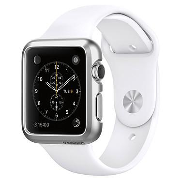 Spigen Apple Watch Case Thin Fit Argent (42 mm) Coque de protection pour Apple Watch