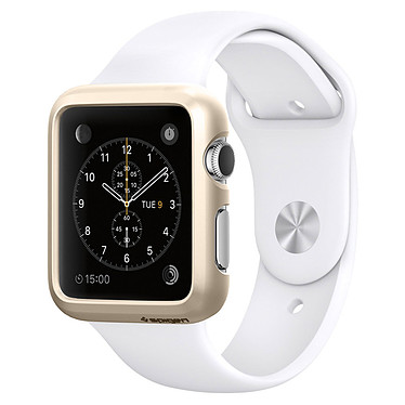 Spigen Apple Watch Case Thin Fit Or (38 mm) Coque de protection pour Apple Watch