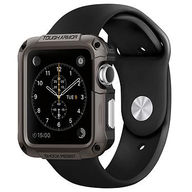 Spigen Apple Watch Case Tough Armor Argent (42 mm) Coque de protection pour Apple Watch