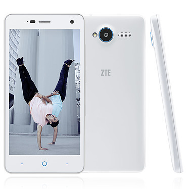 """ZTE Blade L3 Blanc Smartphone 3G+ Dual SIM avec écran tactile 5"""" sous Android 5.0"""