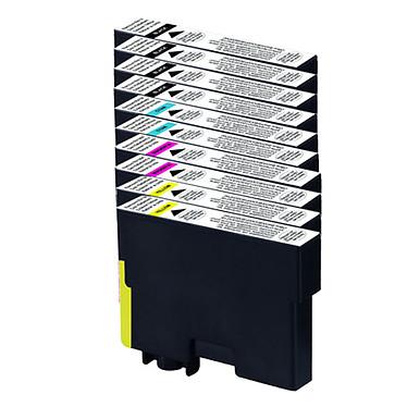 Megapack cartouches compatibles Epson T071 (Cyan, magenta, jaune et noir)