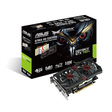 ASUS STRIX-GTX750TI-DC2OC-4GD5 - GeForce GTX 750 Ti 4 Go