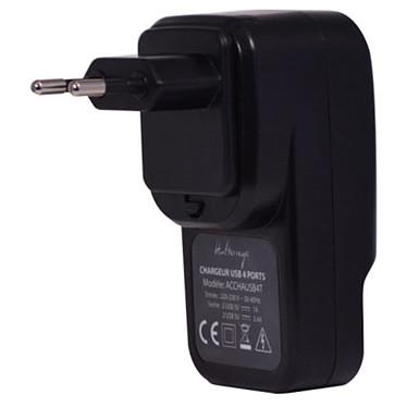 Acheter Halterrego chargeur multi USB (4 ports dont 2 de charge ultra-rapide) sur prise secteur