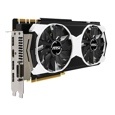 Avis MSI GeForce GTX 980 TI 6GD5T OC