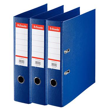 Esselte Lot de 7 classeurs à levier standard 2 Anneaux dos 75 mm Bleu + 3 OFFERTS ! Lot de 7 classeurs à levier standard 2 anneaux dos 75 mm Bleu pour documents A4 + 3 OFFERTS !