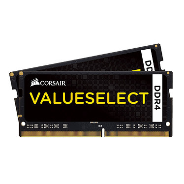 Corsair Value Select SO-DIMM DDR4 16 Go (2 x 8 Go) 2133 MHz CL15 Kit Dual Channel RAM DDR4 PC4-17000 - CMSO16GX4M2A2133C15