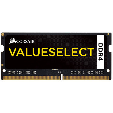 Avis Corsair Value Select SO-DIMM DDR4 32 Go (2 x 16 Go) 2133 MHz CL15