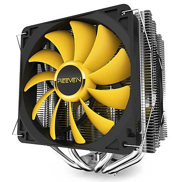 Reeven Okeanos Ventilateur processeur 140 mm et 120 mm pour Intel et AMD