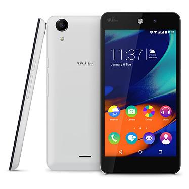 """Wiko Rainbow UP 4G Blanc Smartphone 4G-LTE Dual SIM avec écran tactile HD 5"""" sous Android 5.1"""